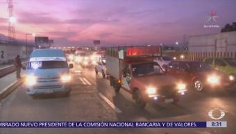 Accidentes en autopistas del Valle de México dejan un muerto