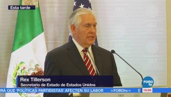 Actividades Rex Tillerson México