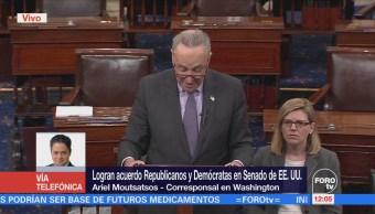 Acuerdo presupuestal del Senado estadounidense encuentra obstáculos
