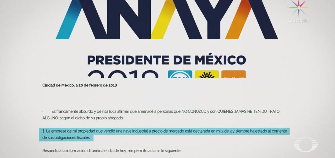 Empresarios acusan a Ricardo Anaya de amenazas,