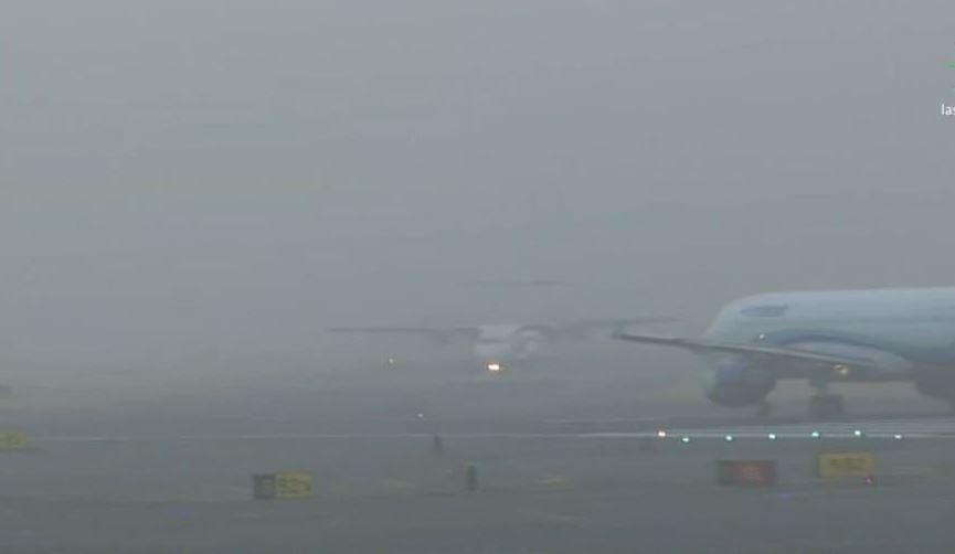 Banco de niebla afectó operaciones en el aeropuerto CDMX