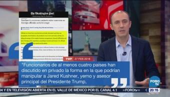 Al menos cuatro países pretendían manipular a Jared Kushner