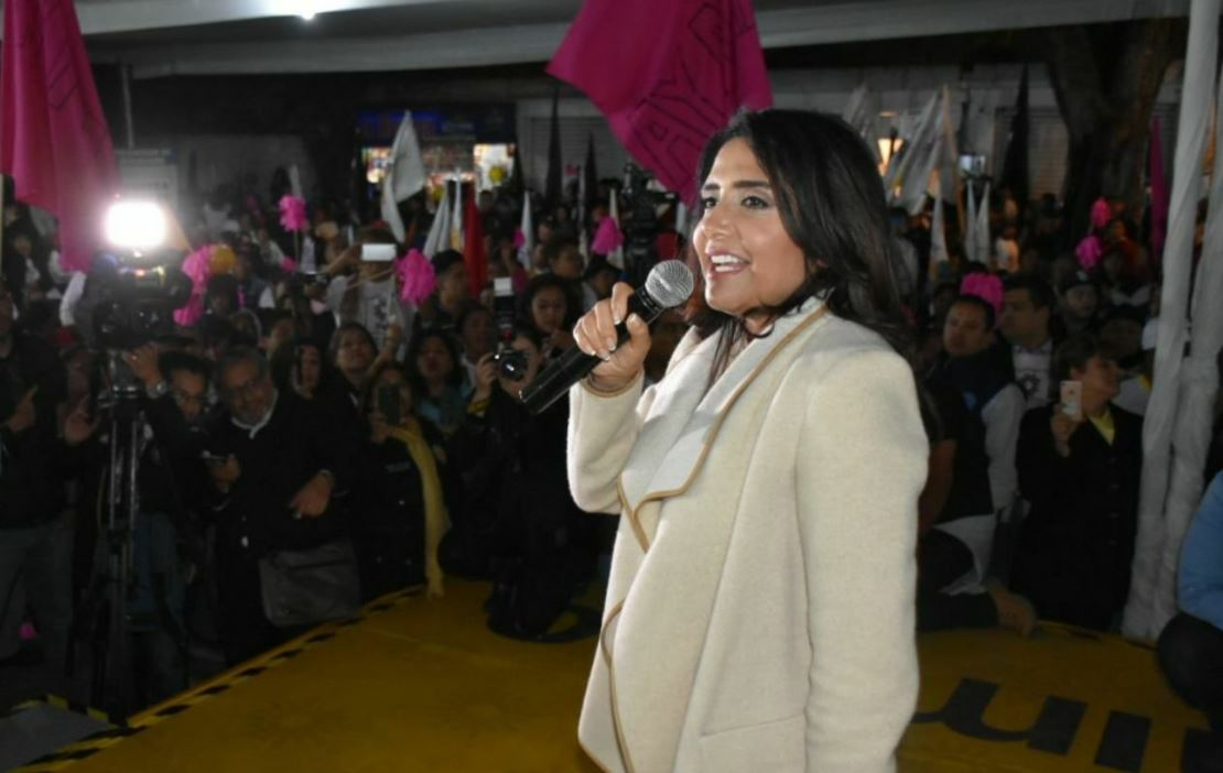 Claudia Sheinbaum, arriba 11 puntos de Alejandra Barrales