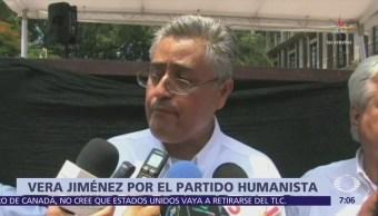 Alejandro Vera buscará candidatura del Partido Humanista para gobernar Morelos