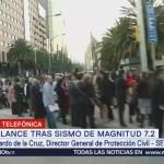 Alerta sísmica se activa si el movimiento telúrico lo amerita: Protección Civil