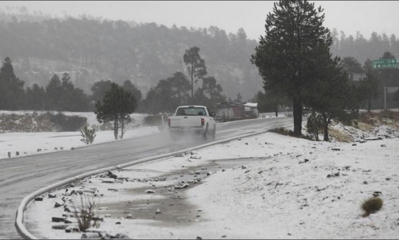 alertan de nuevas nevadas en chihuahua por frente frio