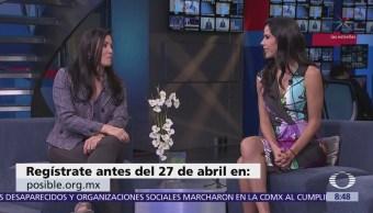 Alicia Lebrija habla del proyecto Posible, para apoyar a innovadores