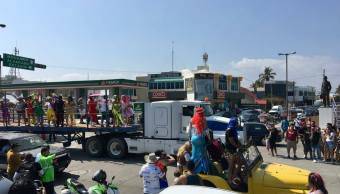 Alistan operativo de seguridad para las fiestas del Carnaval de Veracruz