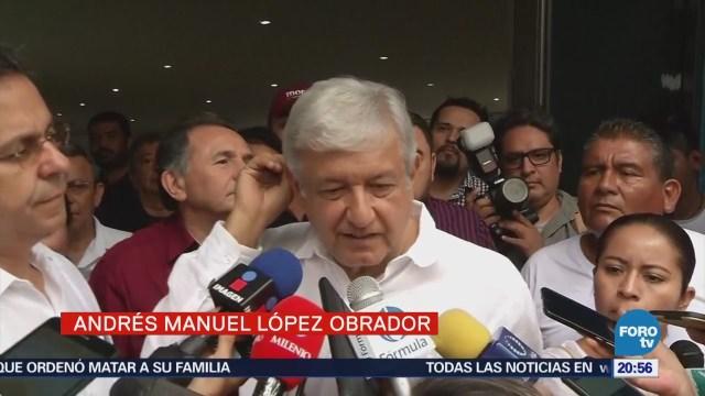 AMLO se reúne con estructura de Morena en Cancún