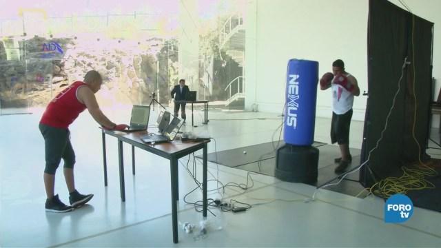 Análisis biomecánico en boxeadores en la UNAM