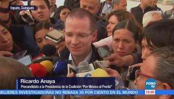 Anaya pide al INE reglas claras para periodo de intercampañas