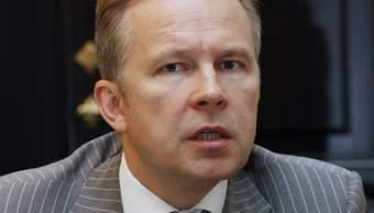 Detienen al gobernador del banco central de Letonia, Ilmars Rimsevics