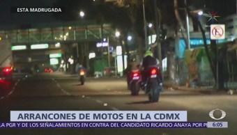 Arrancones Motos Cdmx Durante Madrugada Motociclistas