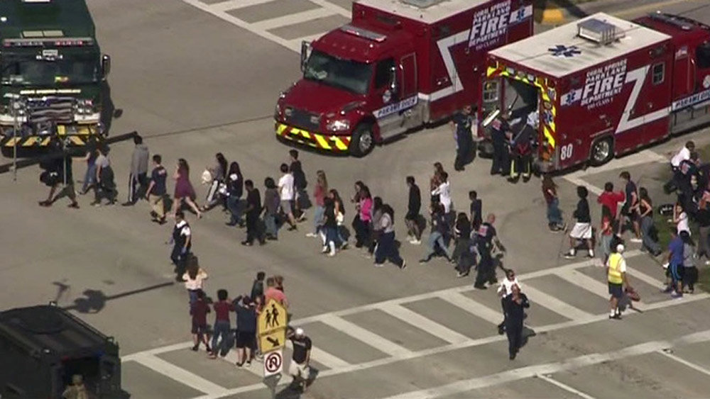 Detuvieron al tirador que mató a 17 personas en Florida