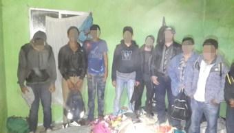 Aseguran a 44 migrantes centroamericanos en Matamoros