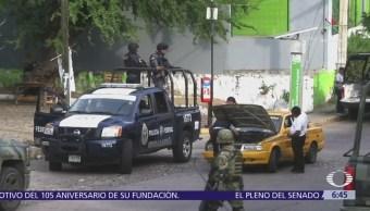 Asesinan a 3 personas en la colonia Ruffo Figueroa de Acapulco