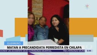 Asesinan Antonia Jaimes, Precandidata Prd Diputación Guerrero