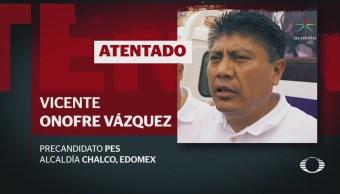 Atacan a balazos al líder del PES en el Estado de México
