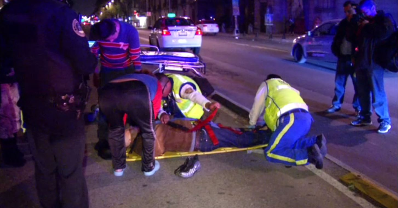 ambulancia de la cdmx atienden a atropellado media hora despues