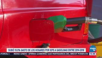 Aumenta 10.5% Gasto Mexicanos Impuestos
