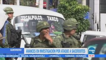 Avanza Investigación Homicidio Sacerdotes Taxco