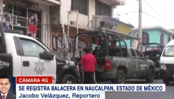Balacera en Naucalpan, Edomex, deja tres muertos y dos heridos