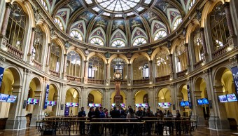 Las Bolsas europeas caen a media jornada