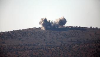 Coalición ataca a fuerzas del gobierno sirio