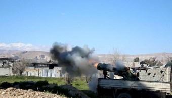 Civiles se encuentran atrapados en bombardeos de Guta