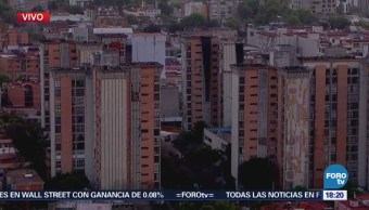 Caen Escombros Edificios Unidad Morelos Por Sismo 7.2 Grados