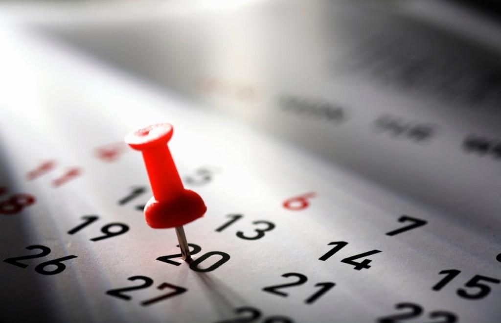 Agenda semanal del sector económico financiero en el mundo