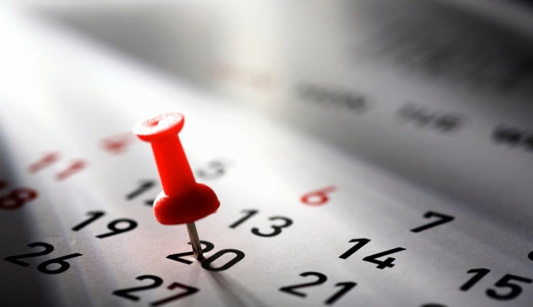 Calendario 20019 Con Festivos.Estos Son Los Dias Festivos Y Puentes Que Tendra El 2019