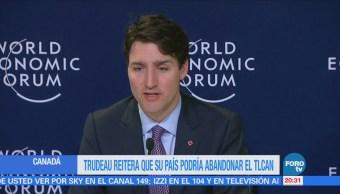 Canadá amenaza con salirse TLCAN
