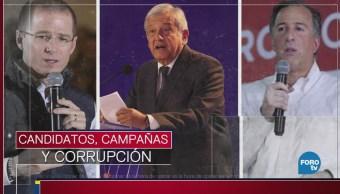 Candidatos, campañas y corrupción