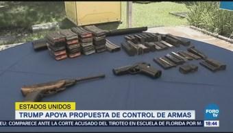 Trump Apoyaría Mayor Control Armas