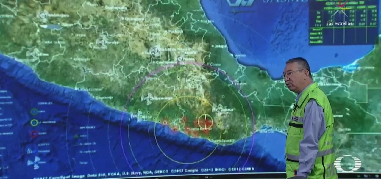 Cenapred explica el movimiento de las ondas durante el sismo de este viernes