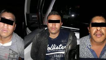 Detienen a tres presuntos integrantes de 'La Línea' en Chihuahua