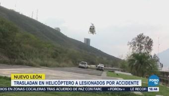 Choque Dos Lesionados Nuevo León