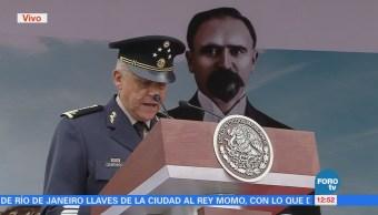 Cienfuegos Reconoce Labor Cadetes Colegio Militar