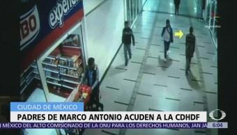 Citan Padres Marco Antonio Sánchez Cdhdf