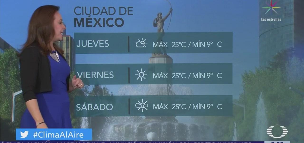 Clima Al Aire: Ciudad de México registrará cielo nublado
