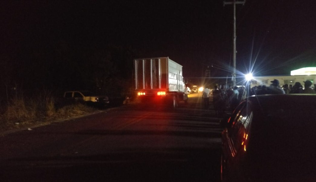 Concluye bloqueo en carretera Acapulco Chilpancingo