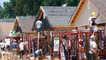 Repunta la construcción de casas en Estados Unidos