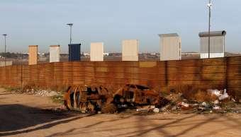 Estados Unidos ofrece 100 mdd construir tramo muro Trump