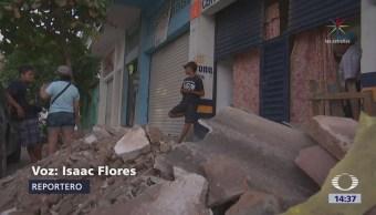 Contabilizan daños tras sismo Pinotepa Nacional, Oaxaca