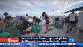 Contaminación Océanos Productos Plásticos David Salas De León