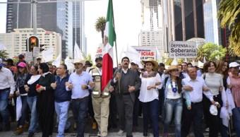 Caravana por la Dignidad llega a la Ciudad de México