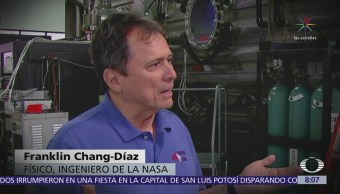 Costarricense alista cohete para viajar a Marte