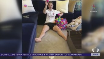 Cristiano Ronaldo enternece las redes sociales