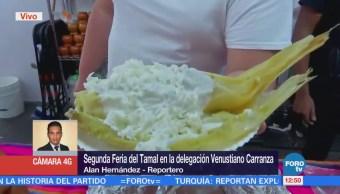 Cuatro países participan en la Feria del Tamal en Venustiano Carranza, CDMX